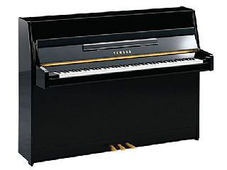 Yamaha B 1 zwart hoogglans / chrome