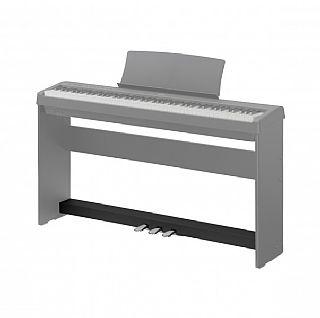 ES 100 Pedalen zwart mat