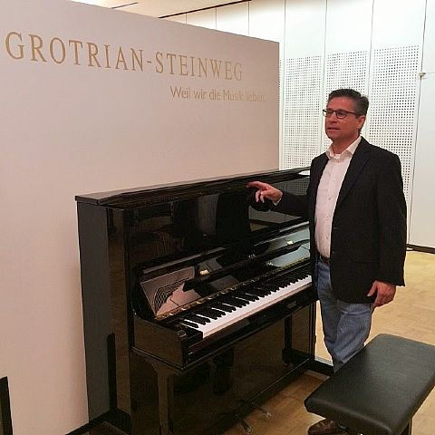 Nieuw in ons assortiment, GROTRIAN STEINWEG piano's en vleugels.