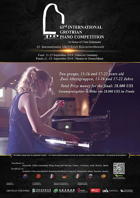 63e Internationaal Grotrian Piano Competition