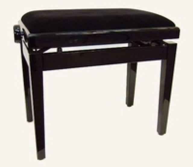 Pianobank met stof bekleding